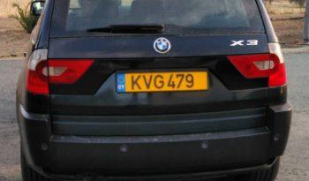 BMW X3 2.0d SE 2006 full